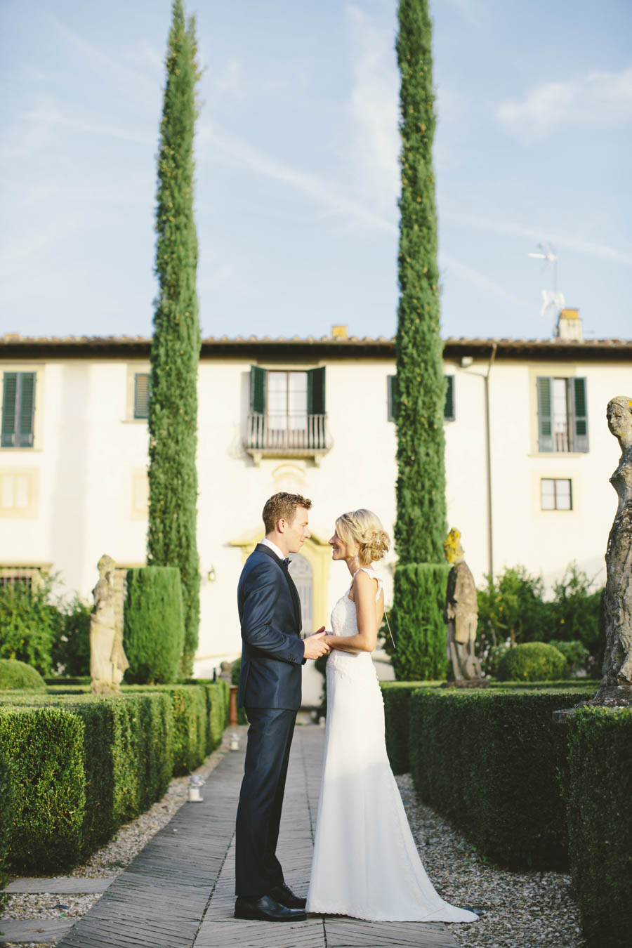 ceremony tuscany stefano santucci photograher Villa piazzole
