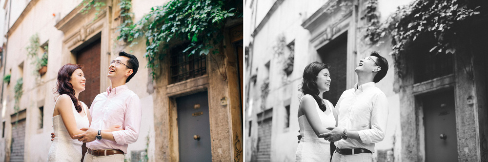 happy couple love session engagement destination chinese street
