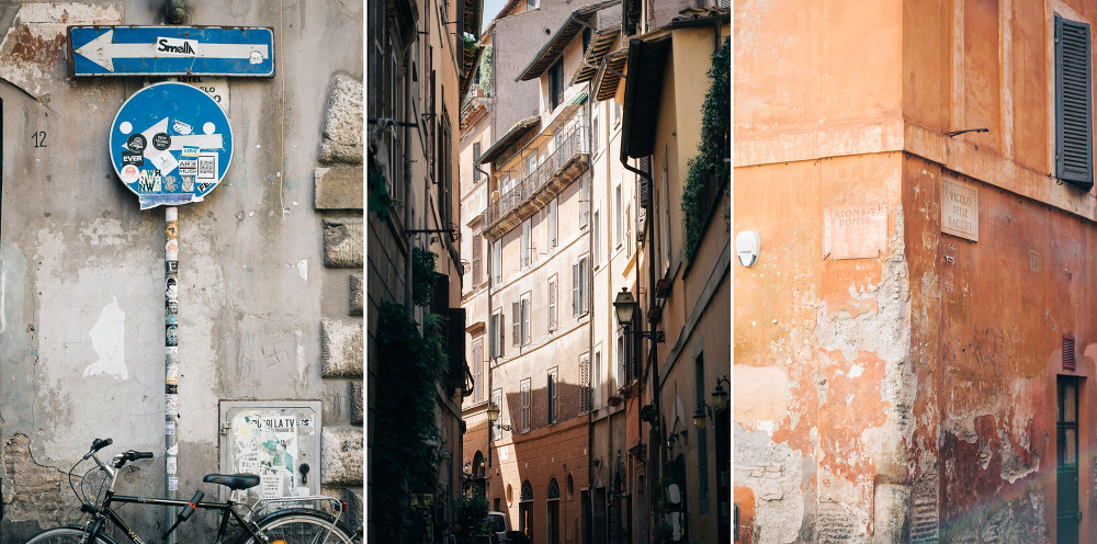 streets of south italy photo wall buildings serie