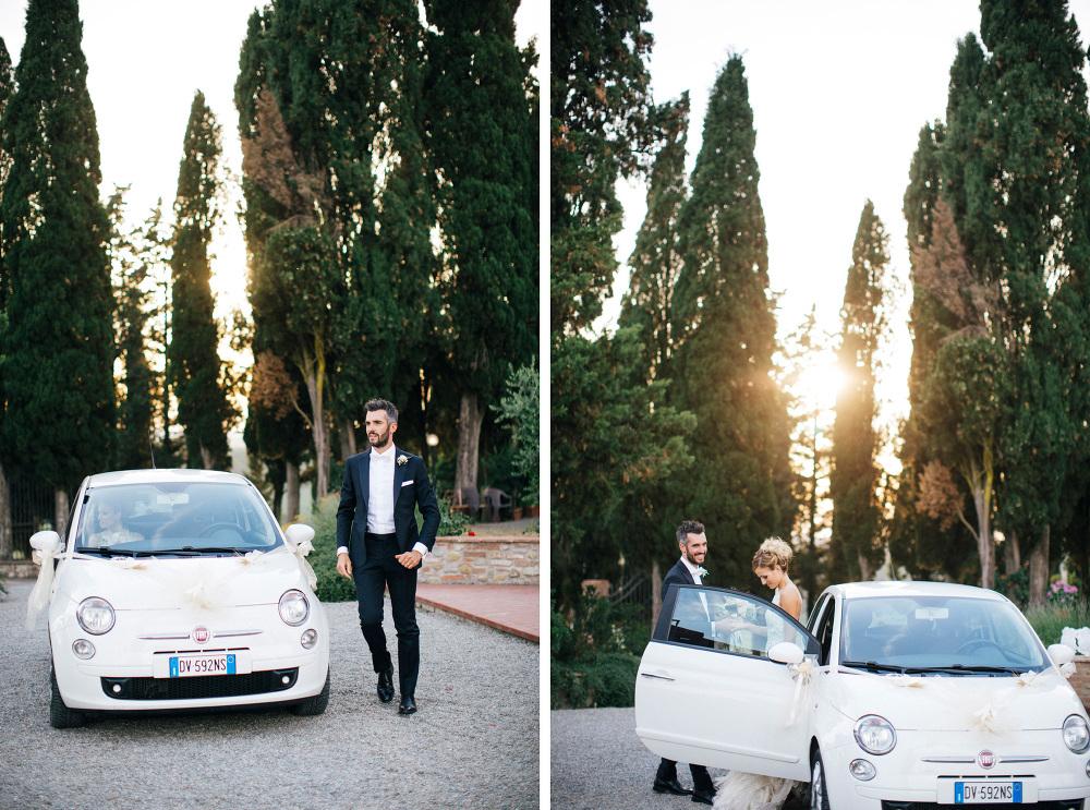 Italian Wedding in the Tuscan Countryside - Lajatico