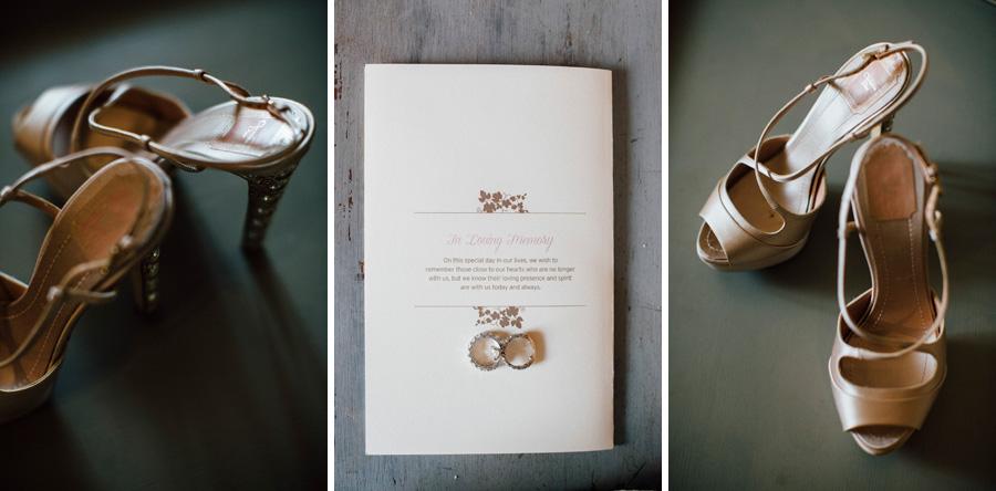 bride shoes stationary details wedding photo christian dior