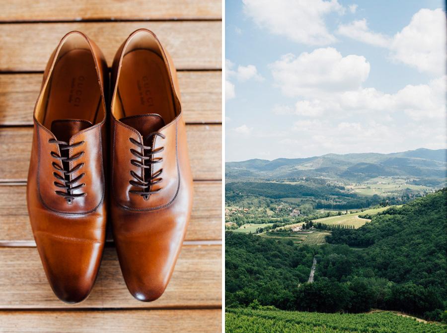shoes groom tuscany gucci wedding destination
