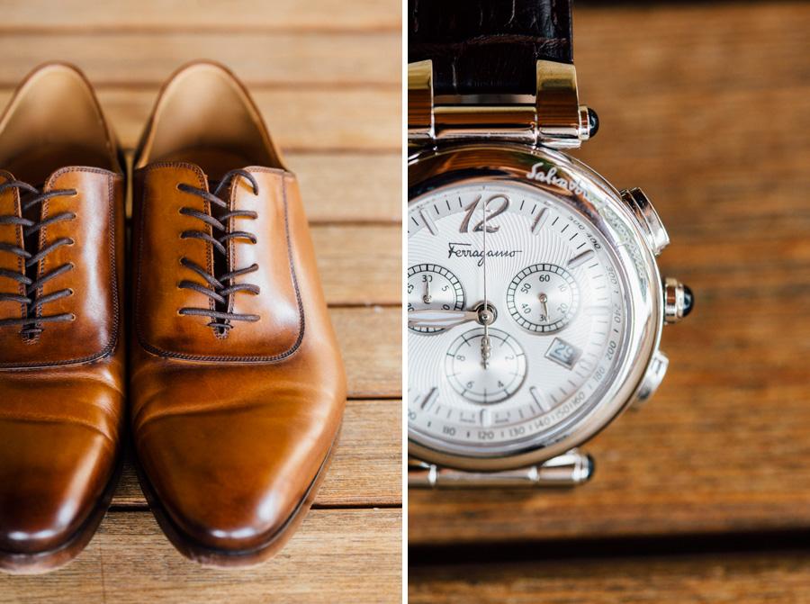 shoes clock ferragamo wedding tuscany destination