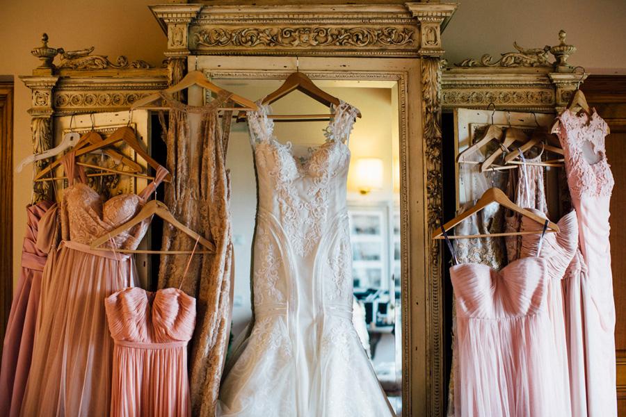 dresses wedding bride bridemates room destination