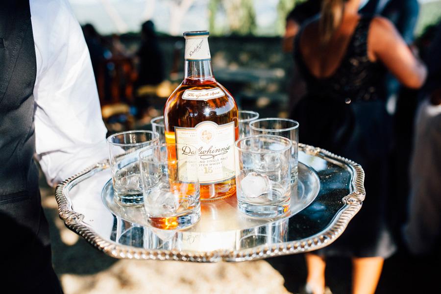 wiskey wedding cocktail destination tuscany