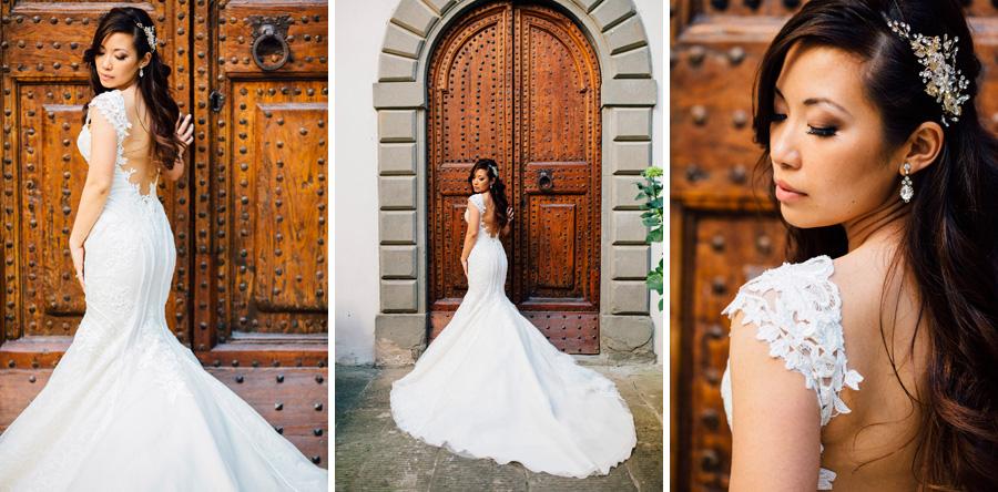 bride destination wedding tuscany love ines di santo dress portr