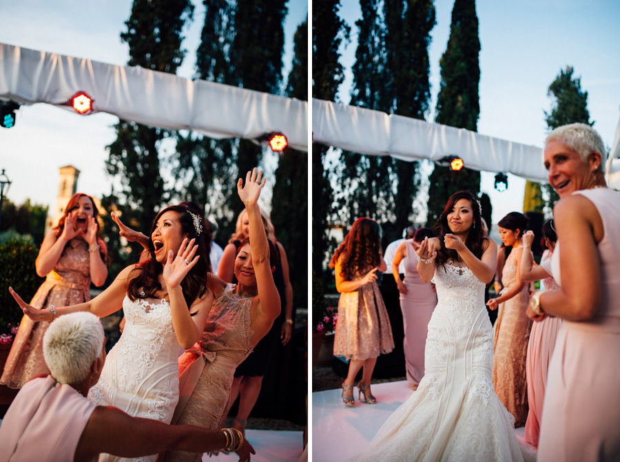 music dance bride groom love wedding italy destination party