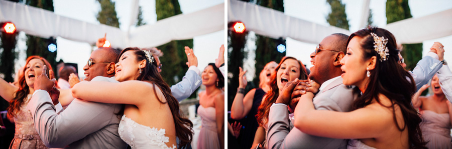 music dance bride groom love wedding italy destination party hap