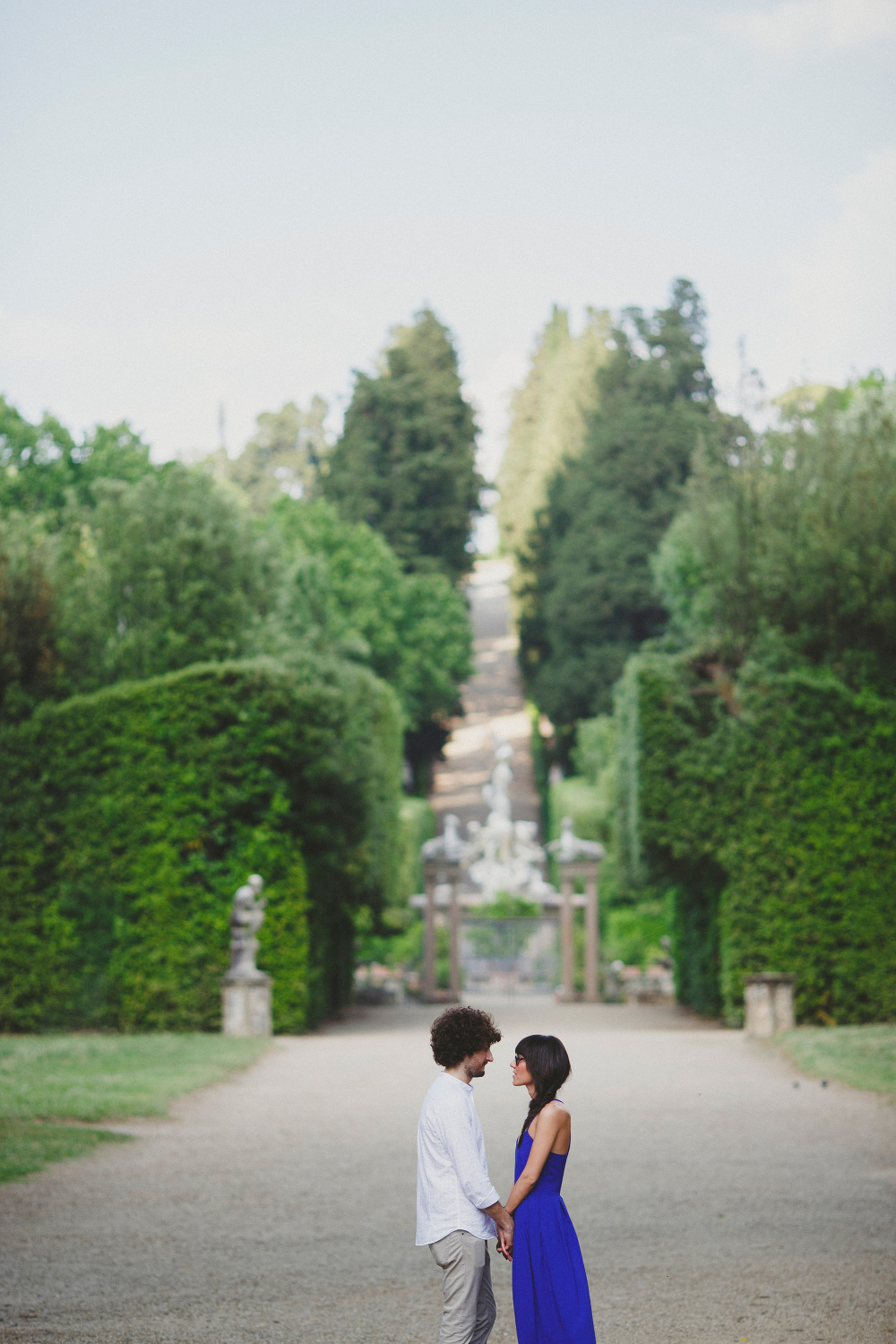 engagement gardens florence photo photosantucci stefano santucci