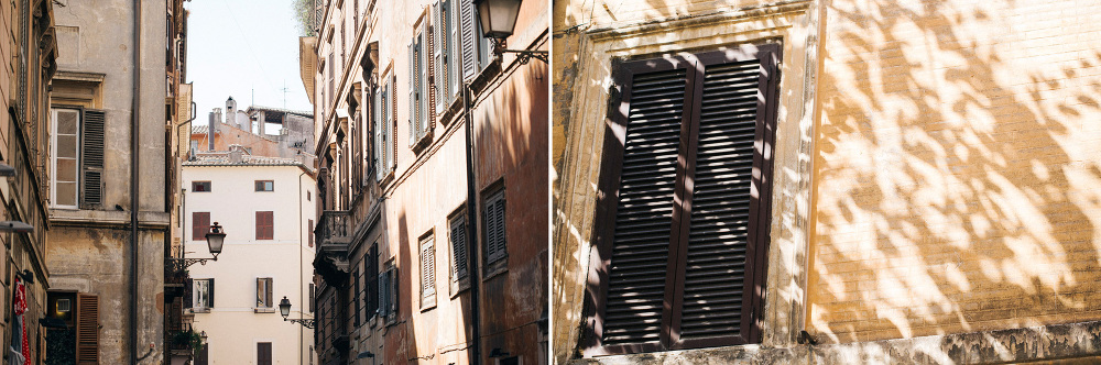 streets of rome windows stairs table photo photography