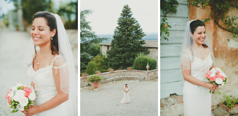 destination wedding photographer tuscany villa italy bride portr