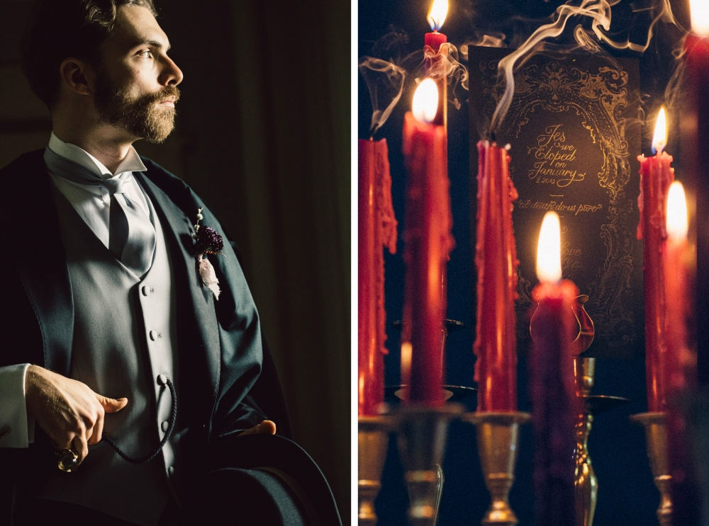 dracula dark inspirational editorial wedding photo photography m
