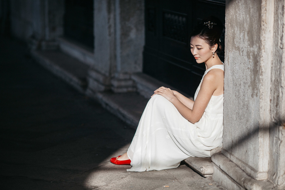 wedding photographer venice engagement