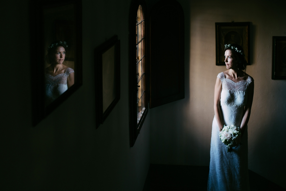 bride photography wedding destination tuscany italy photo shadow
