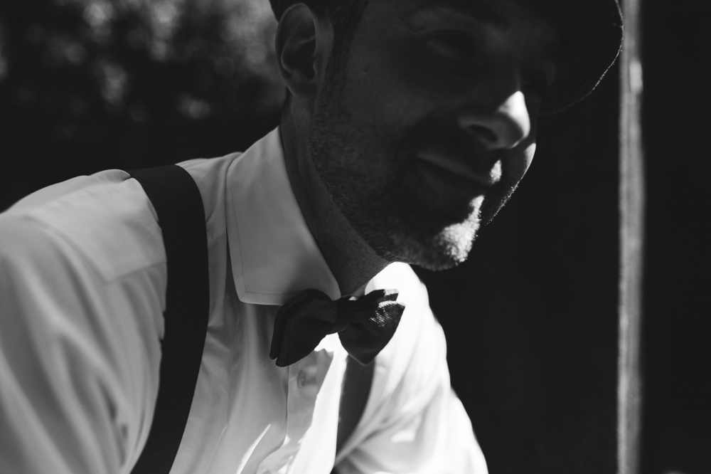 groom bw portrait wedding day destination wedding italy tuscany