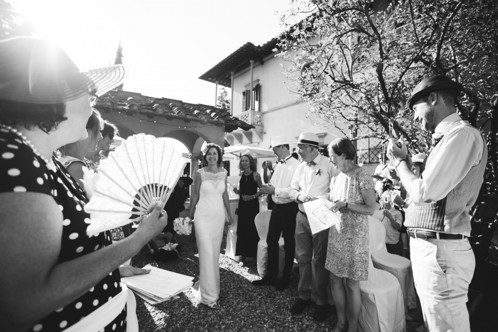 bride groom bw photo wedding day ceremony tuscany italy photogra