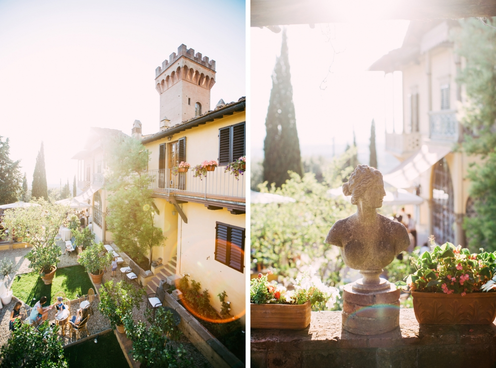 castle fiesole tuscany italy wedding vanue destination summer we