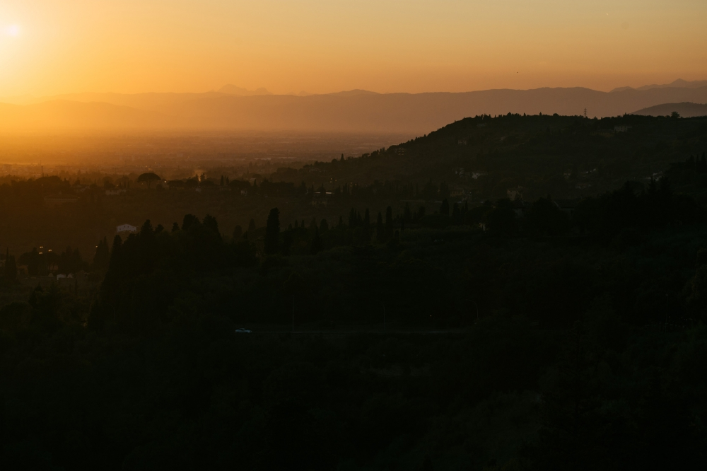 landscape tuscany sunset hills summer photography