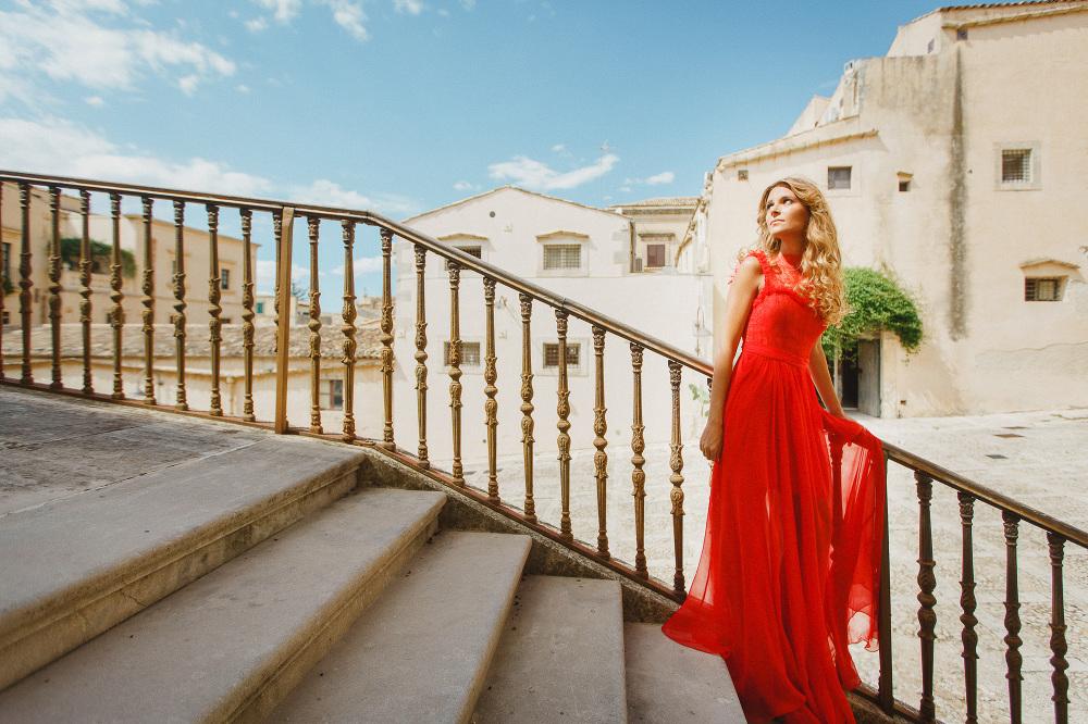 sicily noto wedding photographer anna fuca atelier dress summer