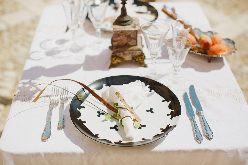 salvatore spataro design plates wedding dinner lunch photographe