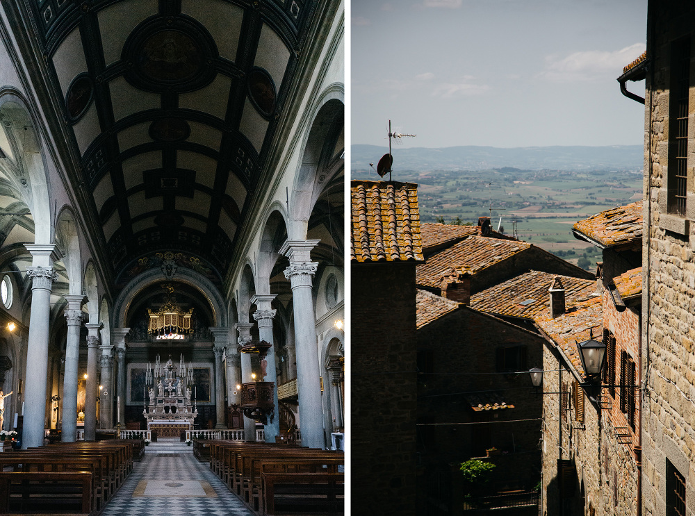 church cortona duomo town wedding photographer destination best