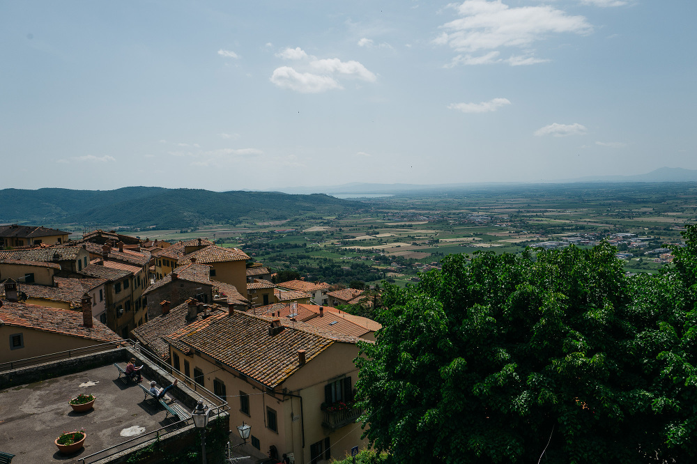 cortona landscape umbria italia italy wedding photo