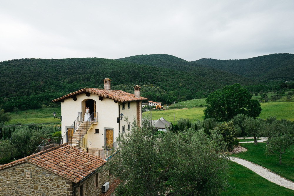 villa baroncino bride photo photographer wedding cortona italy