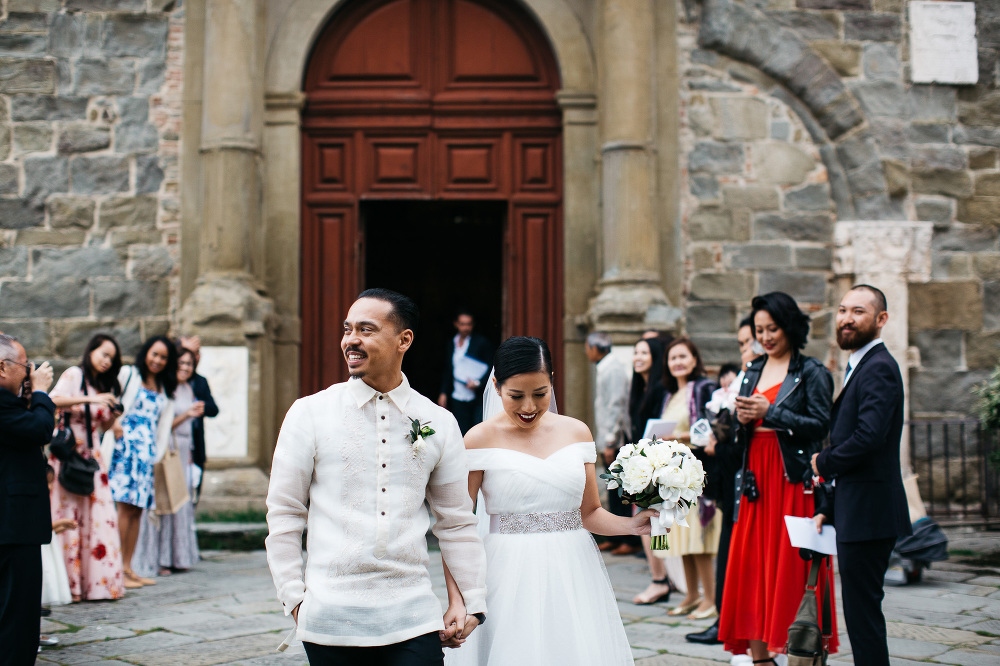 photo photographer wedding cortona italy church duomo
