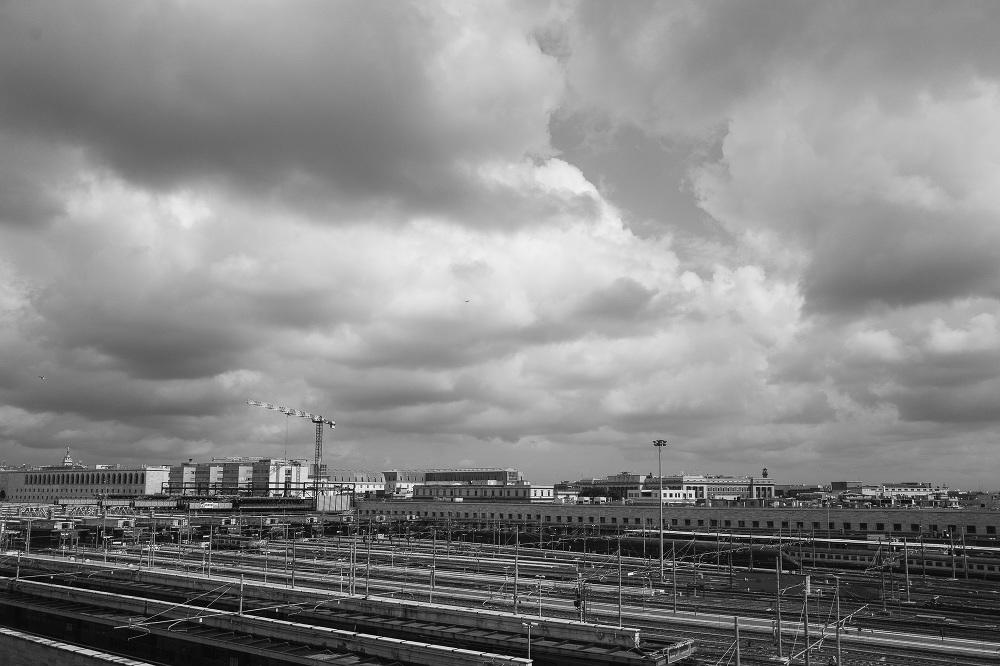 rome landscape photo destination bw photographer leica q train s