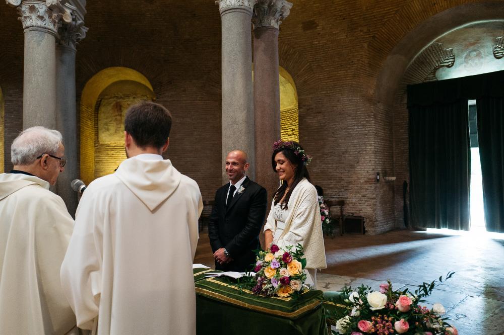 santa costanza rome church ceremony wedding photographer photogr