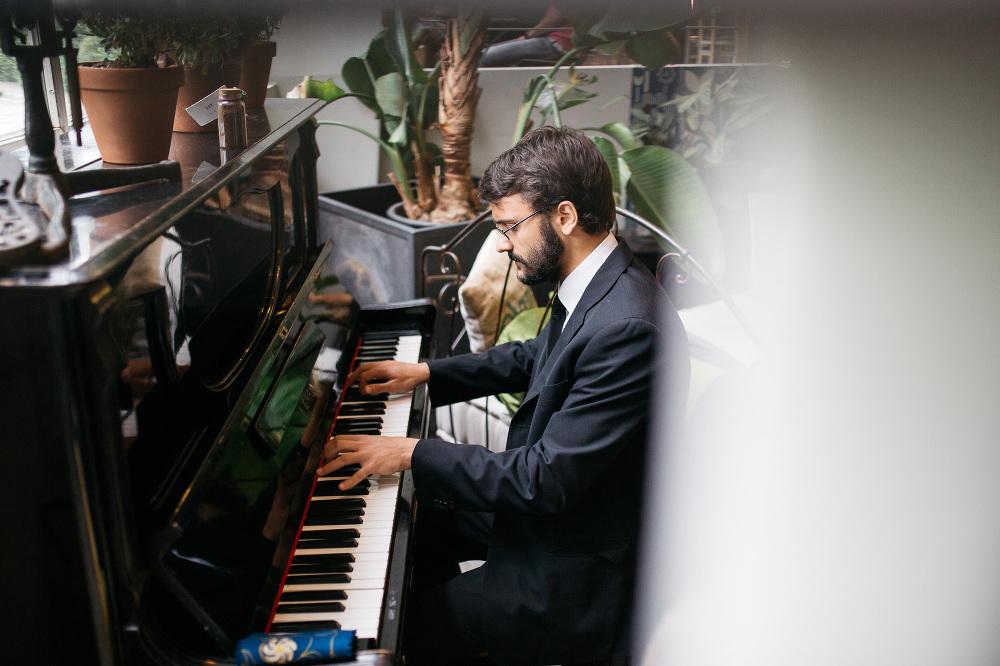 solo piano lanificio guest playing photo