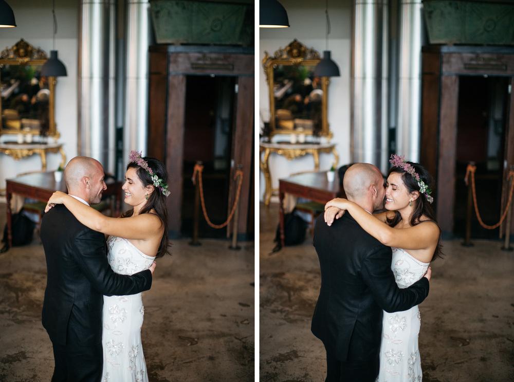 first dance lanificio rome italy photo bride groom love happynes