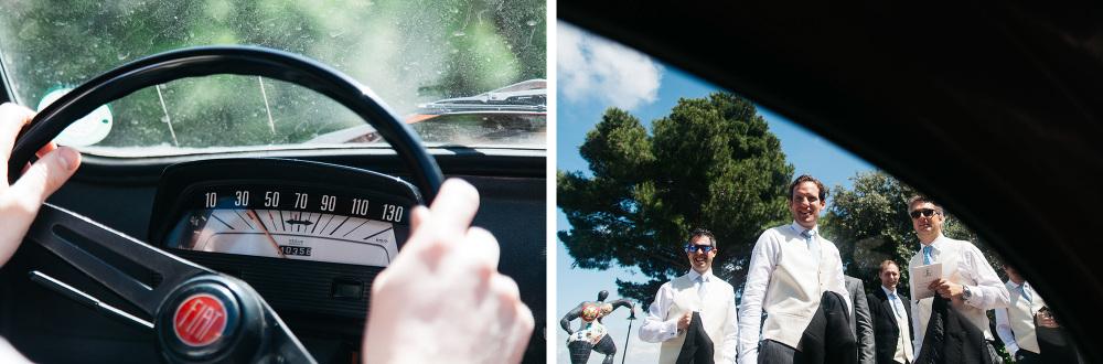 capalbio destination wedding tuscany photo photographer fiat 500