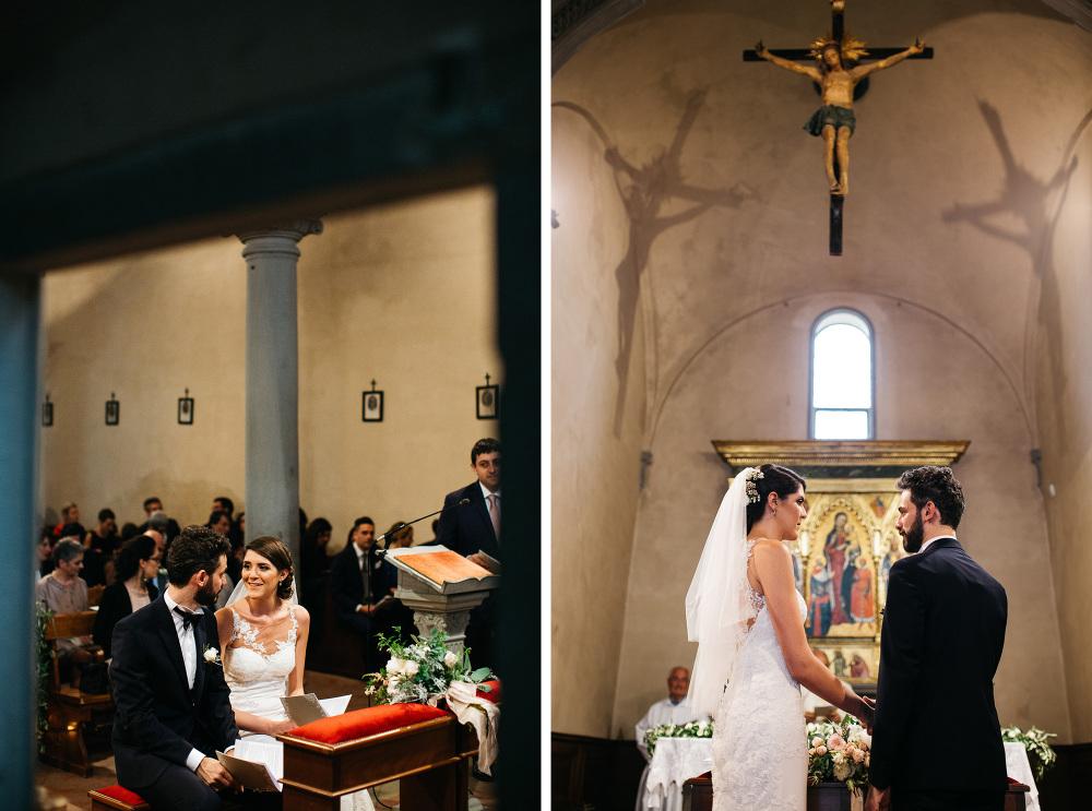 wedding photographer fiesole tuscany photo bride groom church ce