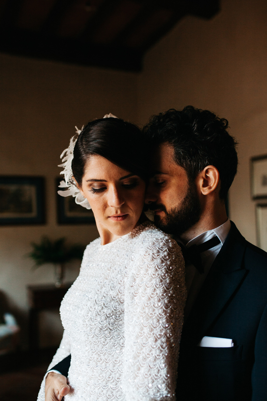 wedding photographer fiesole tuscany photo bride groom portrait