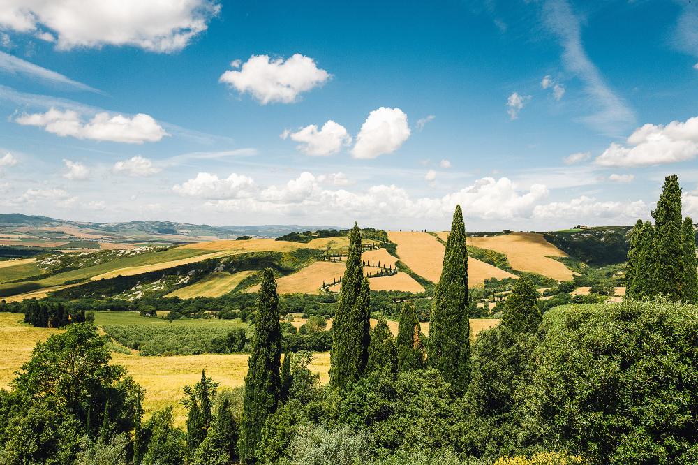 wedding photographer destination tuscany italy villa la Foce photo lands