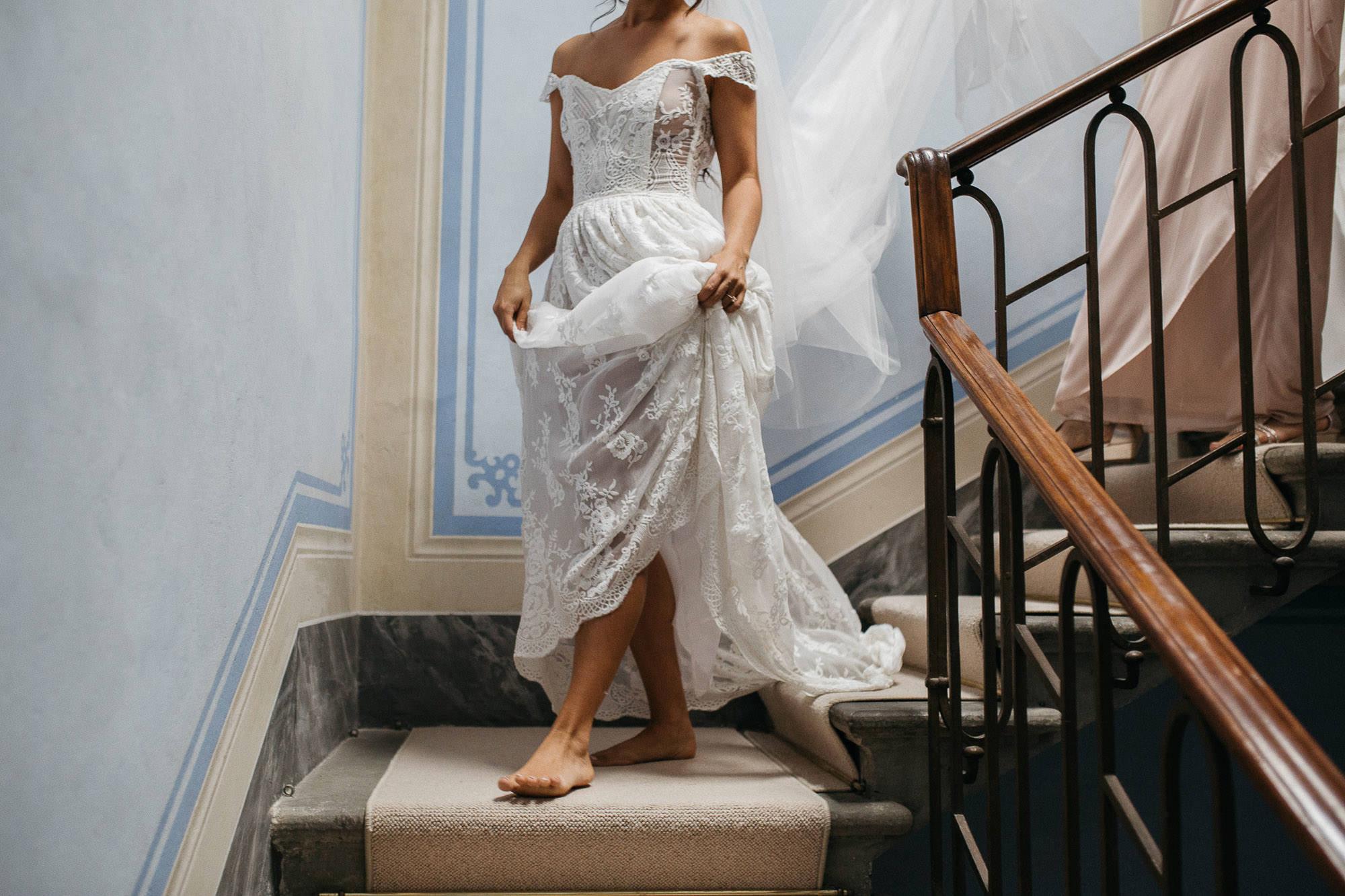 Fairy Tale Tuscan Wedding Shoes Optional